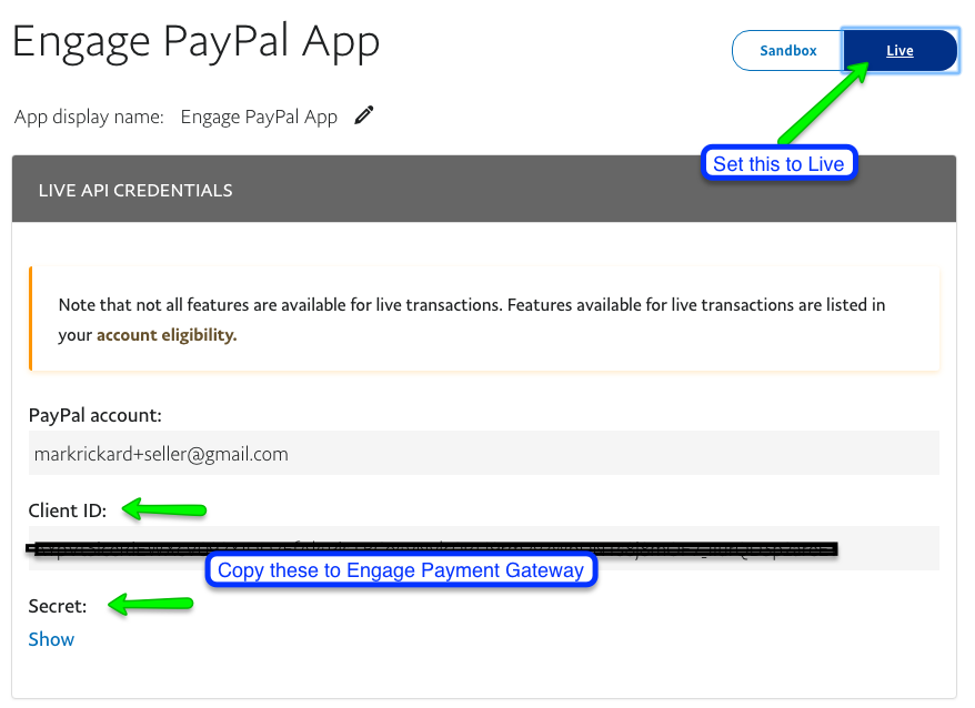 PayPal Payment Processing – Salsa Help Center
